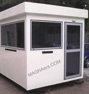 Bulletproof Security Cabin Mumbai India Security Guard